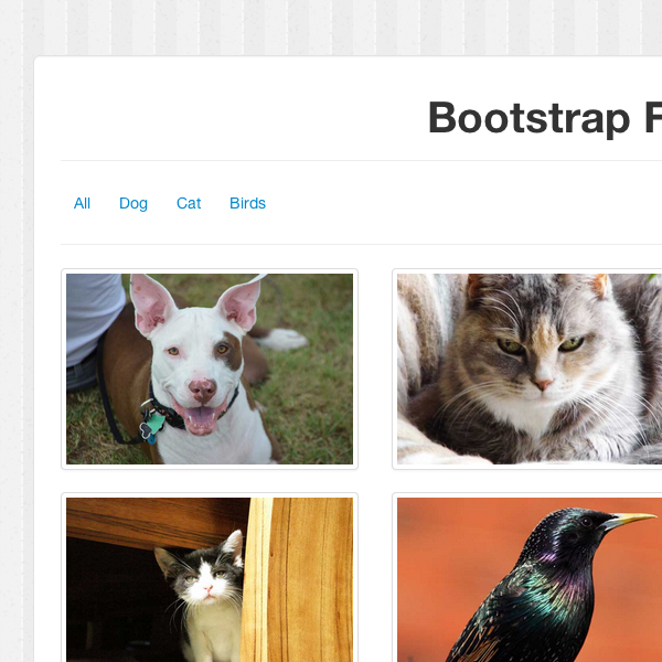 How to Build a Sortable Portfolio with Twitter Bootstrap + Quicksand js