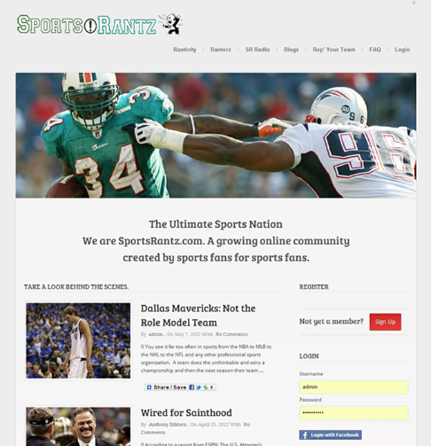 sportsrantz-portfolio